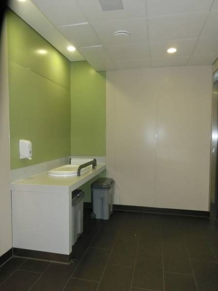 Heathrow Airside Changing Room